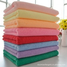 【8144-超细纤维30*60毛巾】纯涤毛巾干发巾 保洁毛巾清洁巾