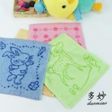 【6156-14支提花方巾】儿童幼儿园专用 不掉色 多花型