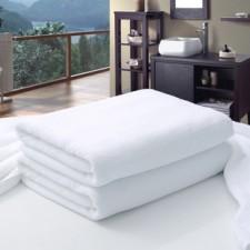 【BS21600】600克21股棉白浴巾