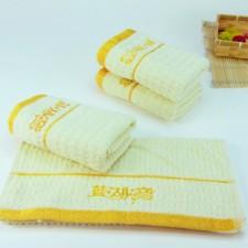 【B1415-蜂窝洗浴毛巾】一次性或重复使用 可定制刺绣