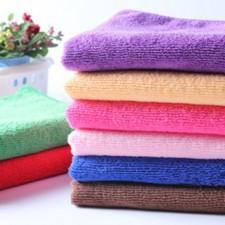 【8233-涤锦25*50】超细纤维清洁毛巾