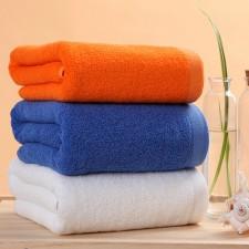 【浴巾】宾馆床上用品酒店布草浴巾 桑拿洗浴美容院全棉加厚浴巾