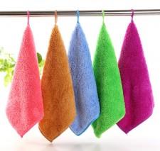 【9352-珊瑚绒30*30】韩国清洁巾  加厚不掉毛清洁巾