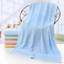 【6562-竹子竹纤维浴巾】竹纤维浴巾70*140素色提花礼品成人抹胸 厂家直销 公司礼品定制