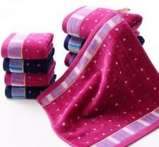 【5030-满天星割绒方巾】厂家直销纯棉毛巾 割绒满天星方巾 纯棉毛巾批发