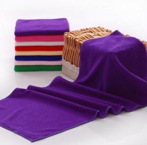 【8187-超细纤维60x120】厂家直销 超细纤维毛巾小浴巾批发理发店毛巾干发巾批发