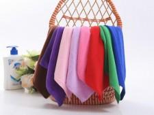 【8182-超细纤维30*30】厂家直销 超细纤维30x30 方巾 劳保福利 清洁保洁