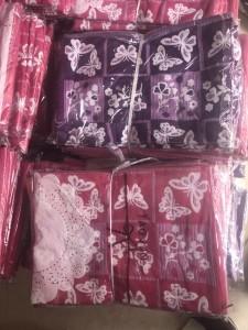 kc9042402---库存提花纱布枕巾3000对现货